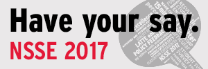 NSSE 2017 - Have your say.